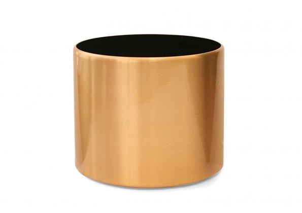 حوض معدني ذهبي