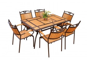 Garden Set Consisting Of 6 Seats