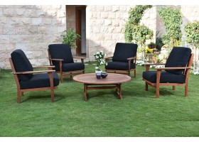 Garden Set Consisting Of 4 Seats