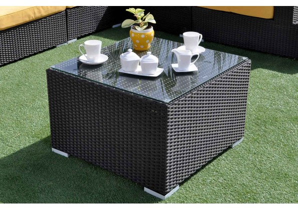 Garden kit Made Of Rattan With Large Cushions