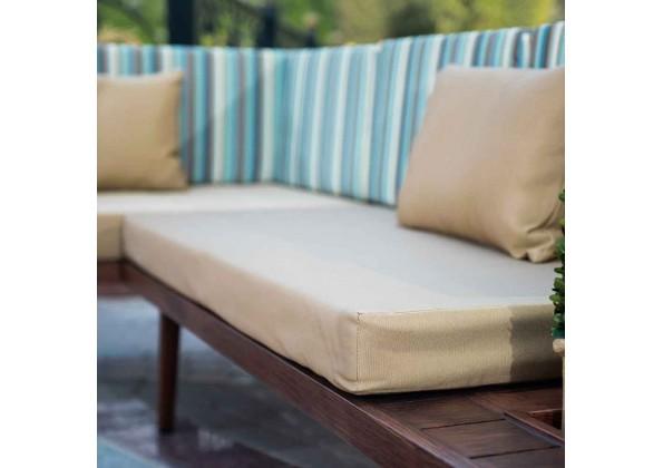 Aluminum Corner Garden Seat