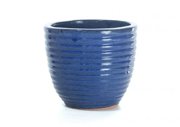 A Pot With An Attractive Blue Color