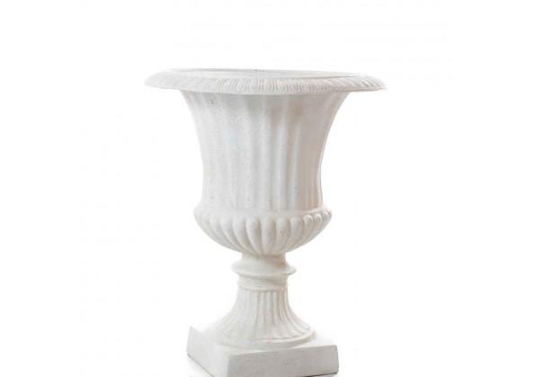 A decorative Fiber Glass Planter