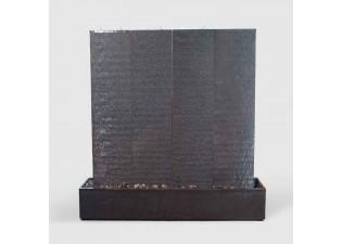 نافورة من الجرانيت أربع قطع متصلة وقاعدة مستطيلة