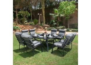 جلسة طعام حديقة كبيرة
