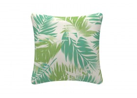 White Wooded Cushion