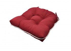 Elegant Red Cushion