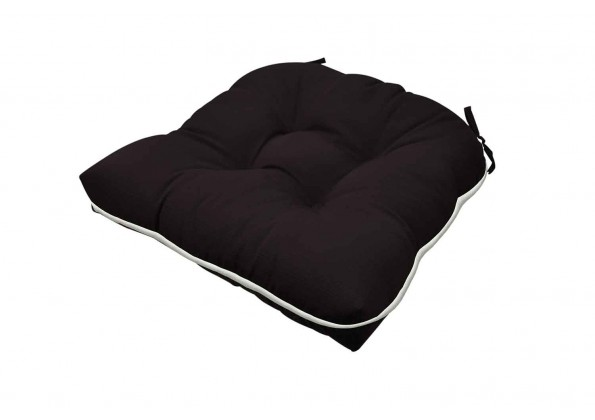 Elegant Black Cushion
