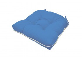 Elegant Blue Cushion