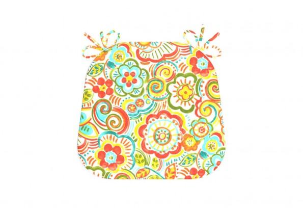 وسادة منقوشة بالوان ساطعة