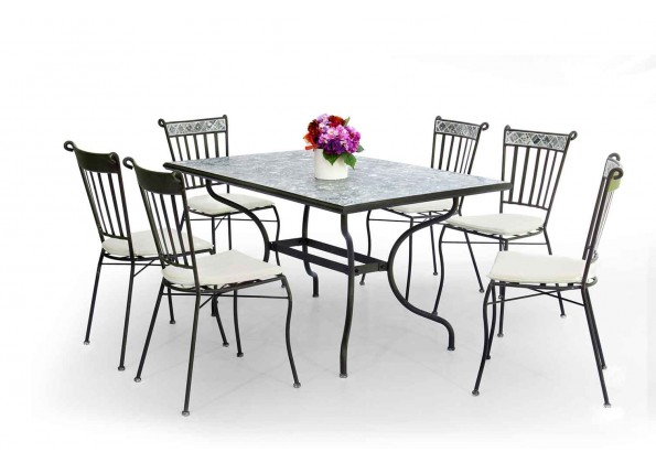 Dining Set Made From Steel