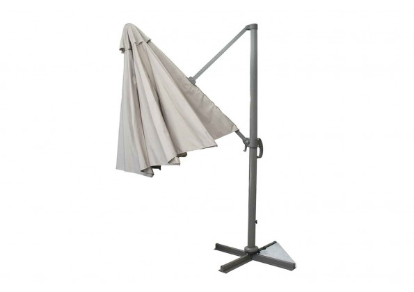مظلة زاوية من الاستيل القوي