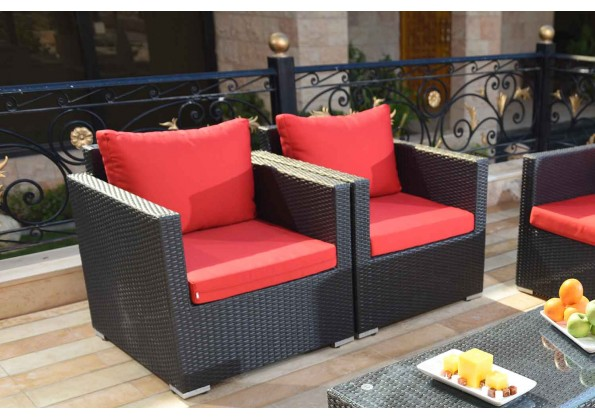 Garden Set for 4 persons Made From Polyethylene