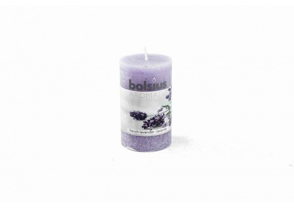 Aromatic Candle With French Lavender Smell