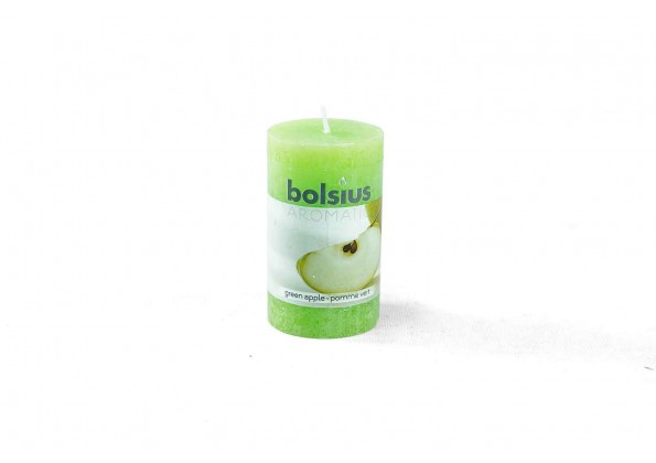 Aromatic Candle With Green Apple Smell