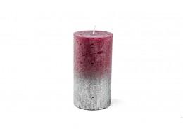 شمع ذو اضاءة متلألئة