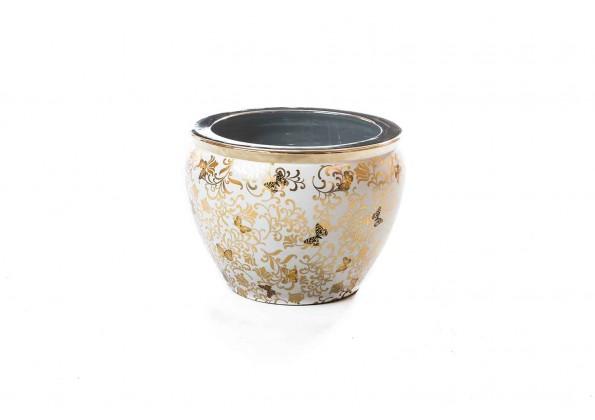 Golden Pot With Golden Edges