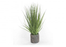 Plastic Artificial Plant With Ceramic Pot