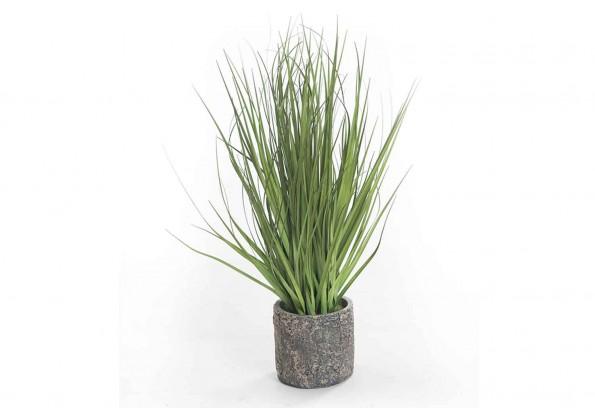 Plastic Artificial Plant With Ceramic Pot