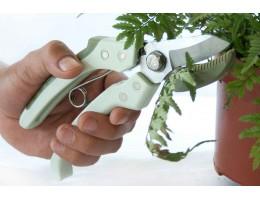 مقص لقص وتشذيب النباتات والاعشاب