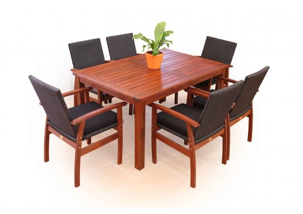 Classic Dinning Set Made From Wood