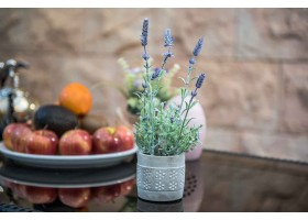 Lavender Artificial Plant