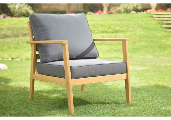 Single Wooden Sitting Chair