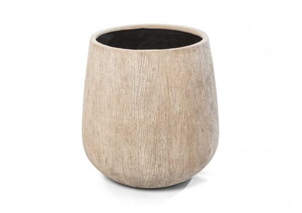 مركن حجرى-ديكور بيج خشبي