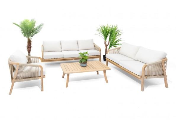 جلسة خشبية 4 قطع