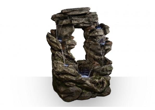 شلال من الفايبر جلاس شكل صخري