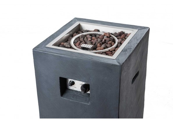 موقد تدفئة غاز مع صندوق التخزين عبوة الغاز