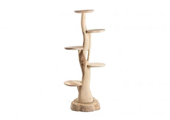 ديكورات خشبية شكل عامودي مقسم
