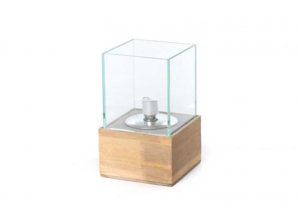 ستاند خشبى وزجاج  للشمع