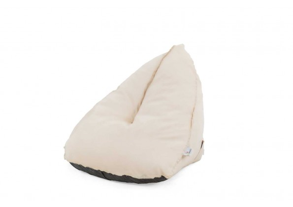 كرسي فوم مفرد مثلث الشكل